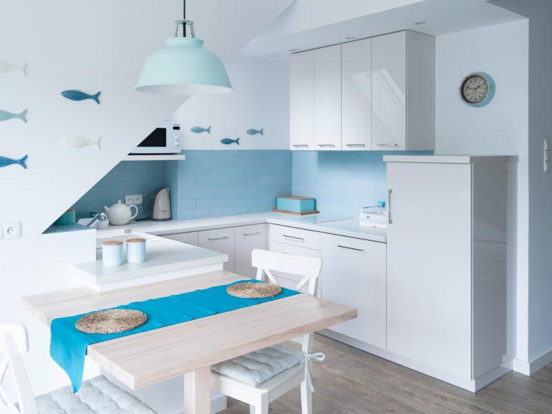 Wakacyjne mieszkanie, kuchnia